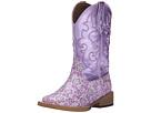 Roper Kids Lavender Square Toe Boot (Toddler/Little Kid)