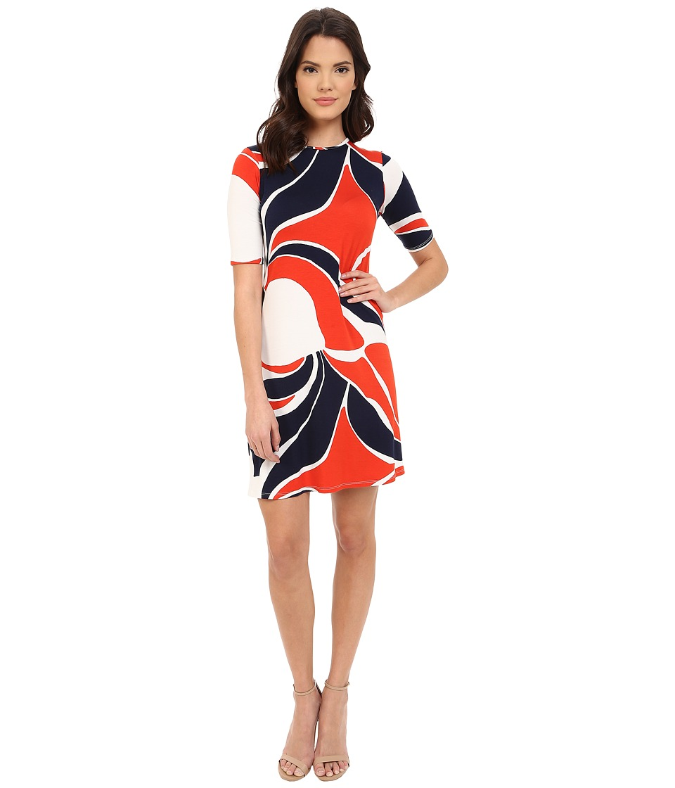 Rachel Pally Eton Dress Print Mod Womens Dress