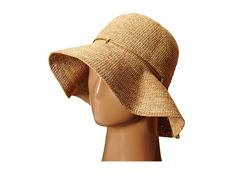 Hat Attack Packable Traveler - Natural/Gold