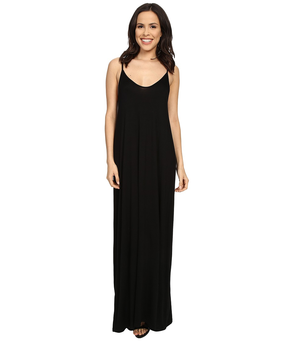 Culture Phit Ellie Spaghetti Strap Maxi Dress (Black) Women