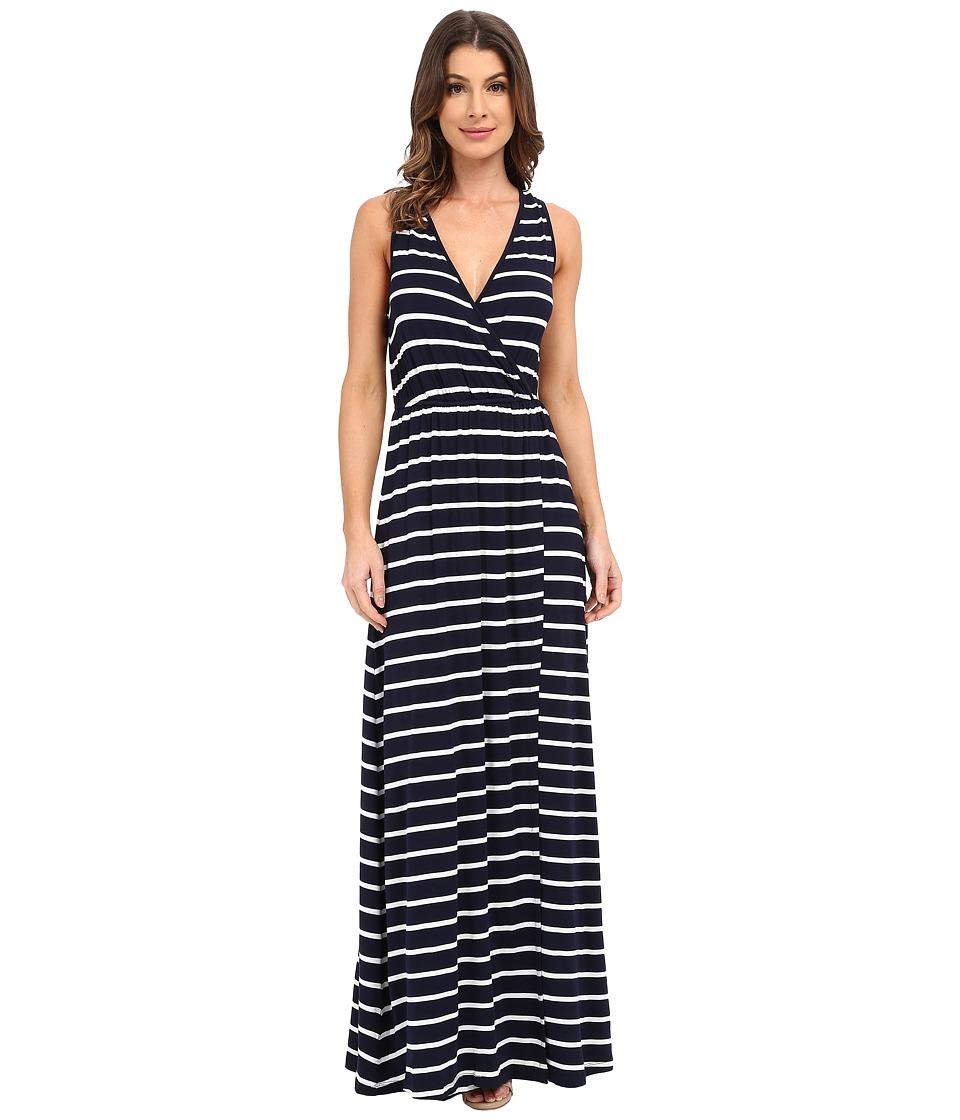 Culture Phit Jain Maxi Dress (Navy/White Stripe) Women