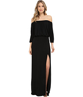 Culture Phit - Lily Off-the-Shoulder Maxi Dress with Slit