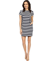 Brigitte Bailey - Miranda Striped Short Sleeve Dress