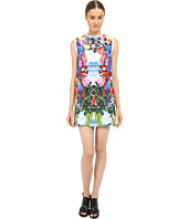 DSQUARED2 - Printed Poplin/Exotic Jungle Dress