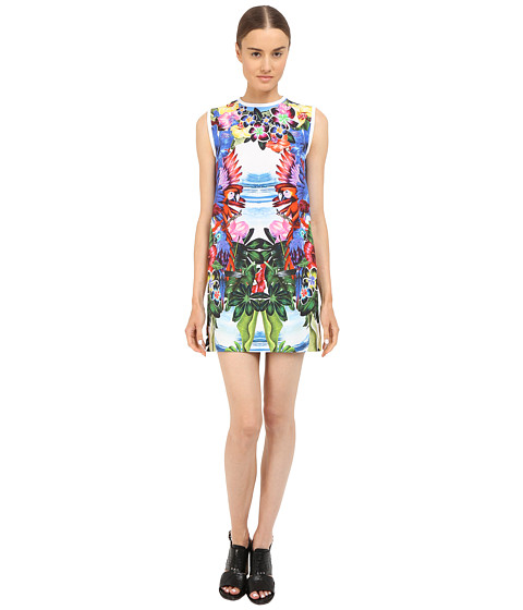 DSQUARED2 Printed Poplin/Exotic Jungle Dress