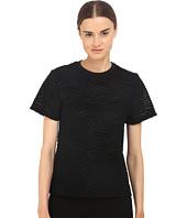 Neil Barrett - Fragmented Line Small Masc. Jersey T-Shirt