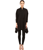 Neil Barrett - Drapped Wide Oversize Popeline Top