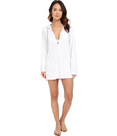 Splendid - Hamptons Terry Hooded Tunic Cover-Up