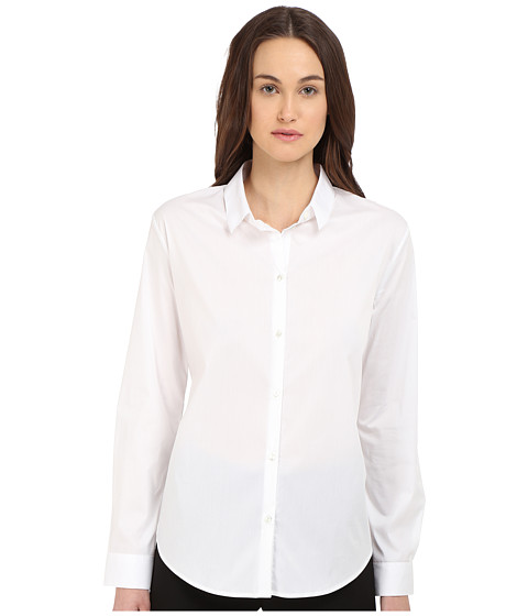 The Kooples Shirt in Stretch Poplin