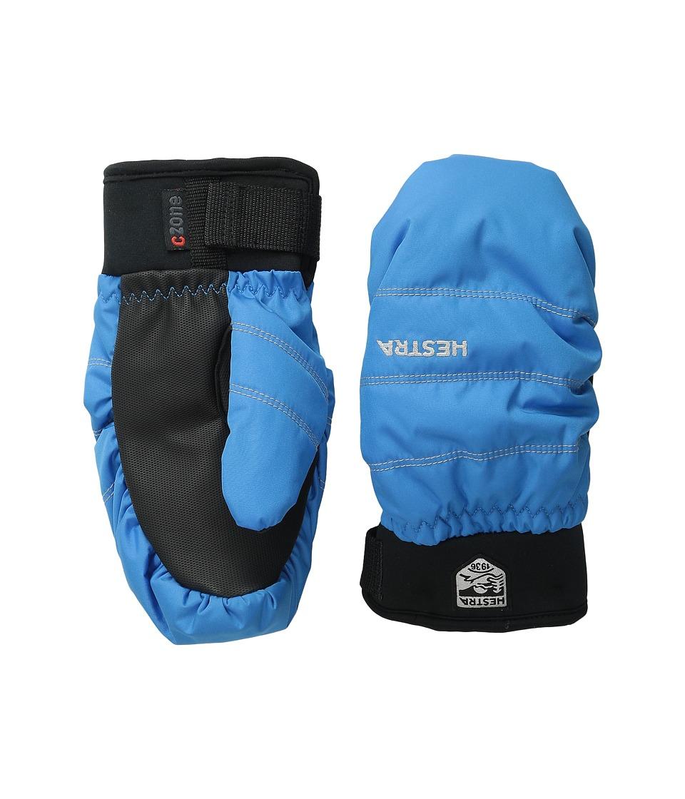 Hestra Czone Primaloft Junior Mitt Turquoise Ski Gloves