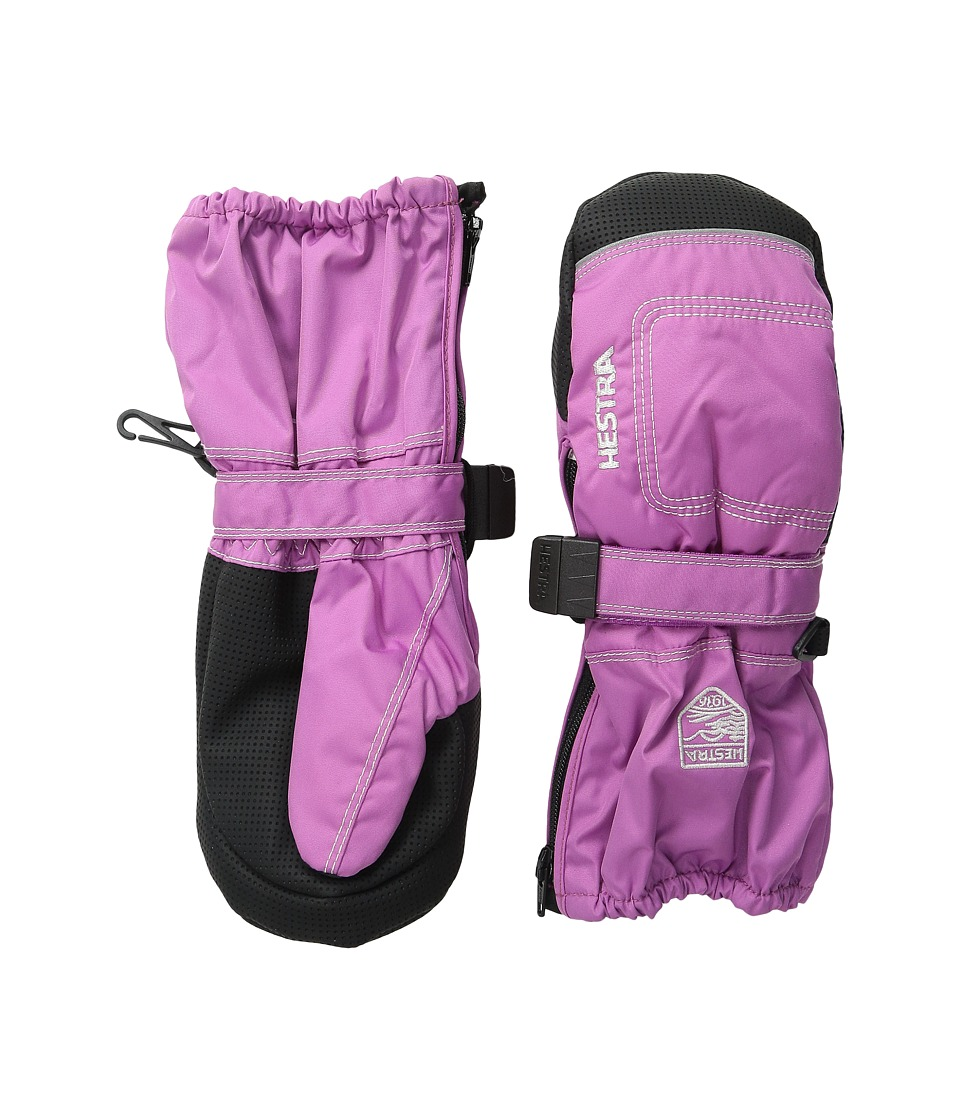 Hestra Baby Zip Long (Cerise) Ski Gloves