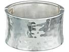 Robert Lee Morris Wide Hammered Hinge Bangle Bracelet