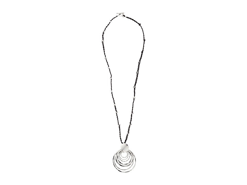 Robert Lee Morris - Orbital Pendant Necklace (Silver) Necklace