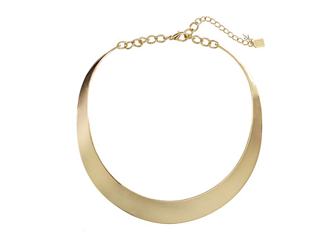 Robert Lee Morris Half Moon Collar Necklace - Gold