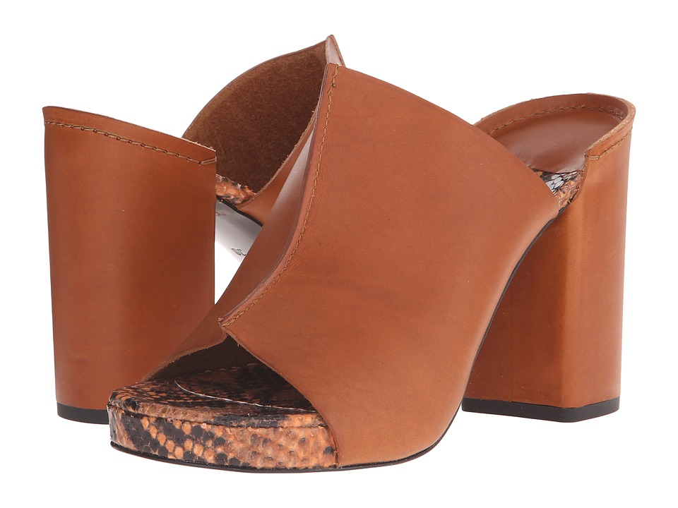 Robert Clergerie Amina Amber Vegetal Leather Womens Shoes