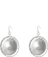 Robert Lee Morris - Hammered Disc Drop Earrings