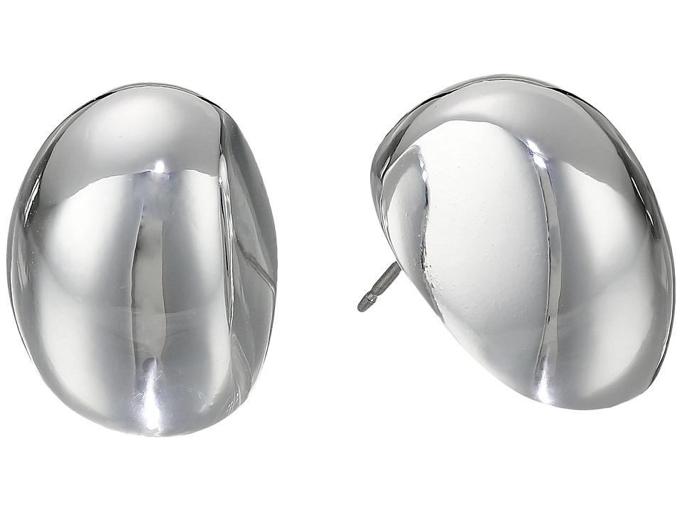Robert Lee Morris - Oval Domed Stud Earrings