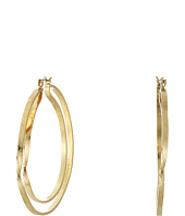 Robert Lee Morris - Double Row Hoop Earrings