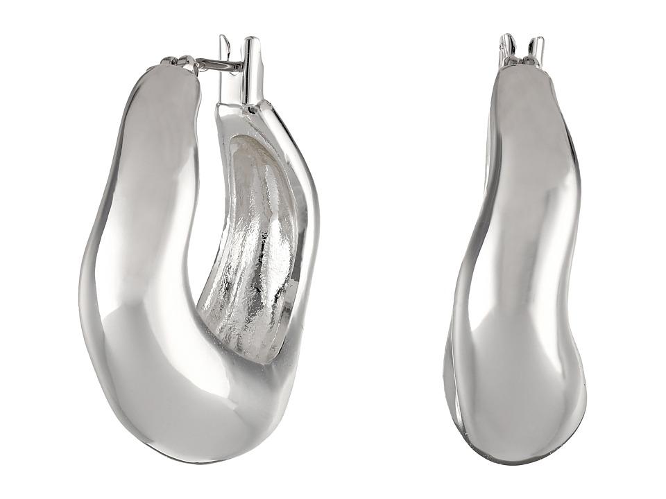 Robert Lee Morris - Small Sculptural Hoop Earrings