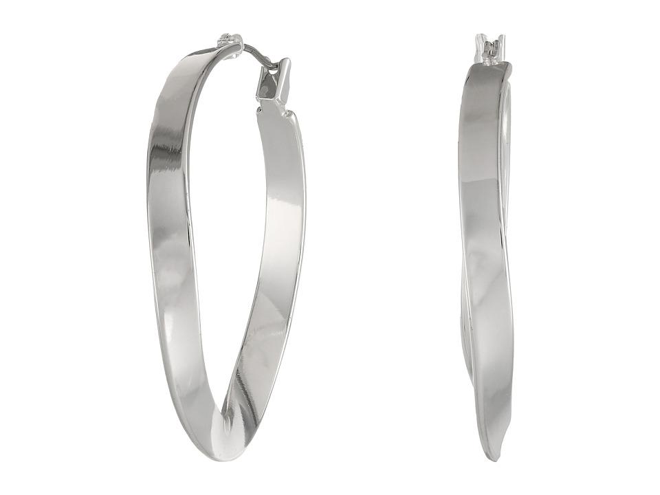 Robert Lee Morris - Twist Hoop Earrings