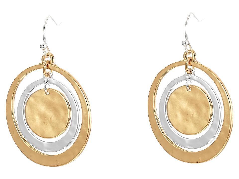 Robert Lee Morris - Orbital Circle Drop Earrings