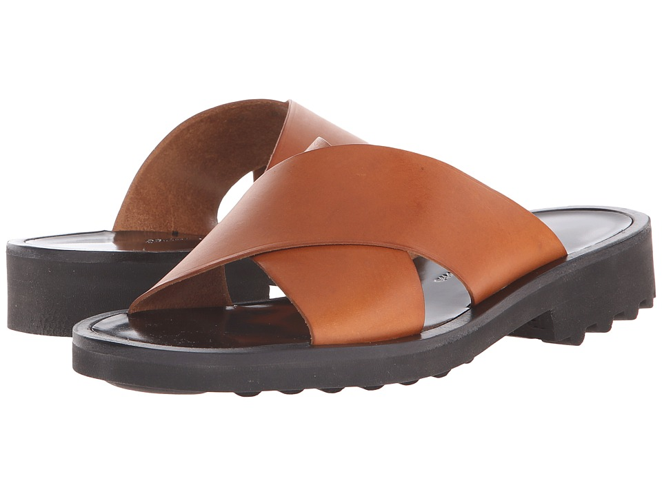 Robert Clergerie Bart02K Amber Vegetal Leather Womens Shoes