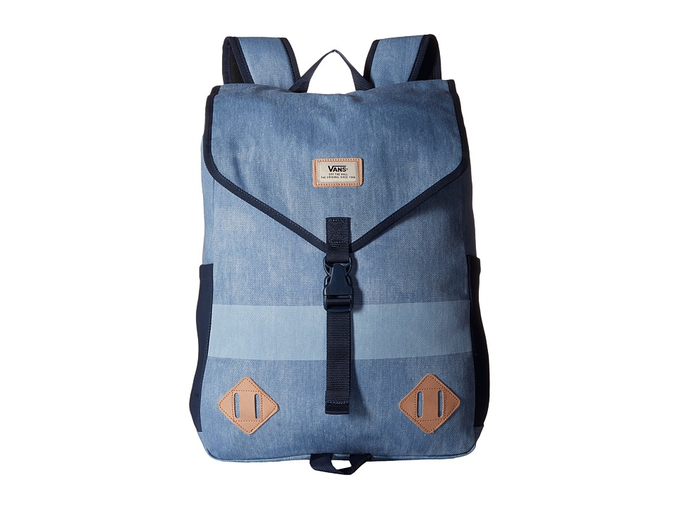 Vans Nelson Backpack Bleached Indigo Backpack Bags