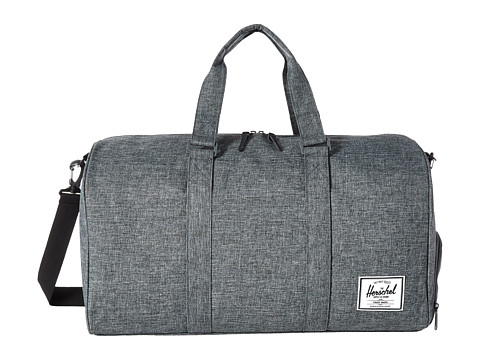 Herschel Supply Co. Novel - Raven Crosshatch