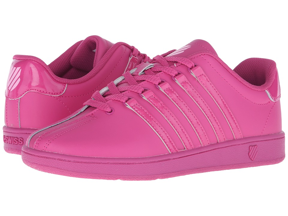 K Swiss Kids Classic VN Big Kid Very Berry/Pink Leather Girls Shoes