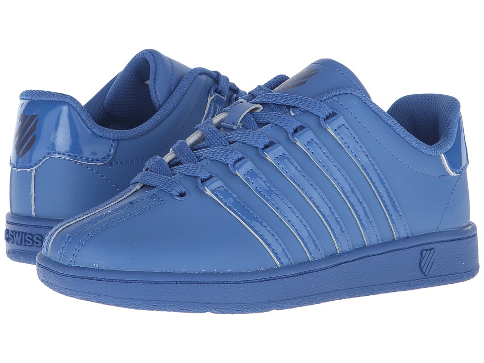 K Swiss Kids Classic VN Big Kid Federal Blue/Navy Leather Kids Shoes