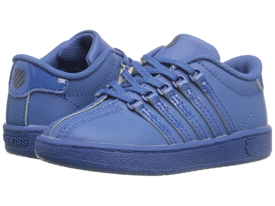 K Swiss Kids Classic VN Infant/Toddler Federal Blue/Navy Leather Kids Shoes