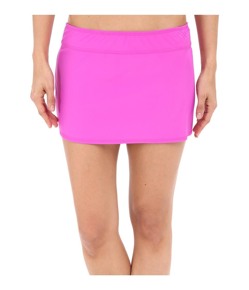 Athena Cabana Solids A Line Skirt Raspberry Womens Swimwear