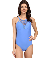 Athena - Cabana Solids High Neck One-Piece