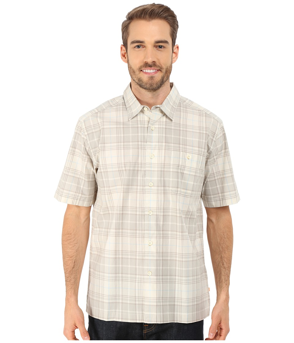 Quiksilver Waterman Blackies Woven Shirt Shell Mens Short Sleeve Button Up