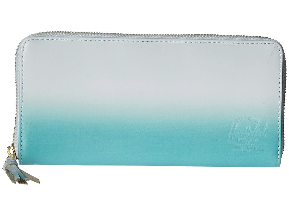 Herschel Supply Co. Avenue White/Aqua Gradient Wallet Handbags