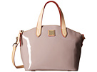 Dooney & Bourke Pebble Patent Small Satchel