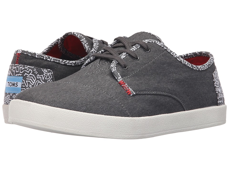 TOMS Paseo Keith Haring Chalk Mens Lace up casual Shoes