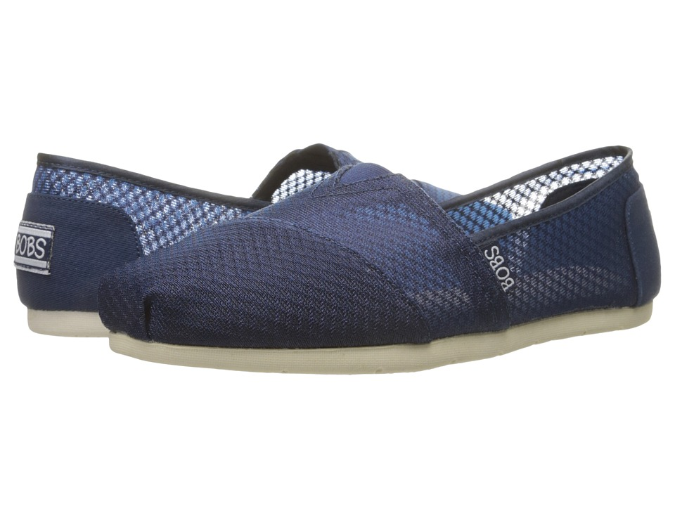 BOBS from SKECHERS Luxe Bobs Star Gazer Navy Womens Shoes