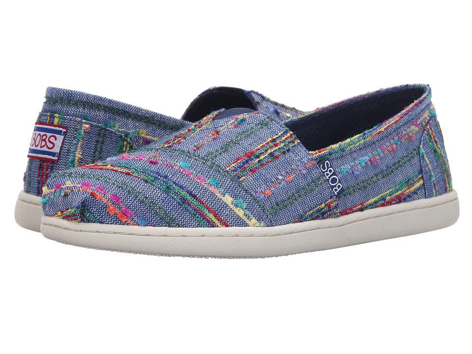 BOBS from SKECHERS Bobs Bliss Sunrise Blue Womens Shoes