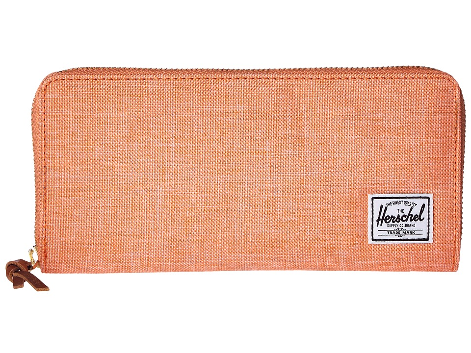 Herschel Supply Co. Avenue Nectarine Crosshatch Wallet Handbags