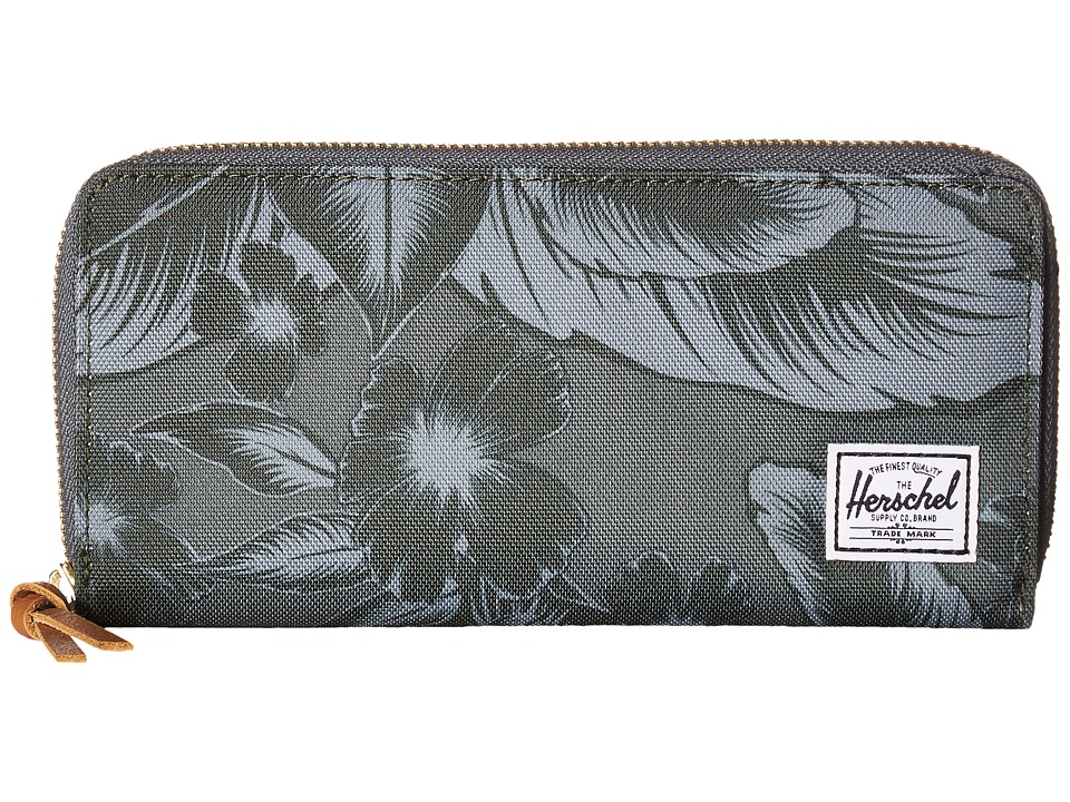 Herschel Supply Co. Avenue Jungle Floral Green Wallet Handbags