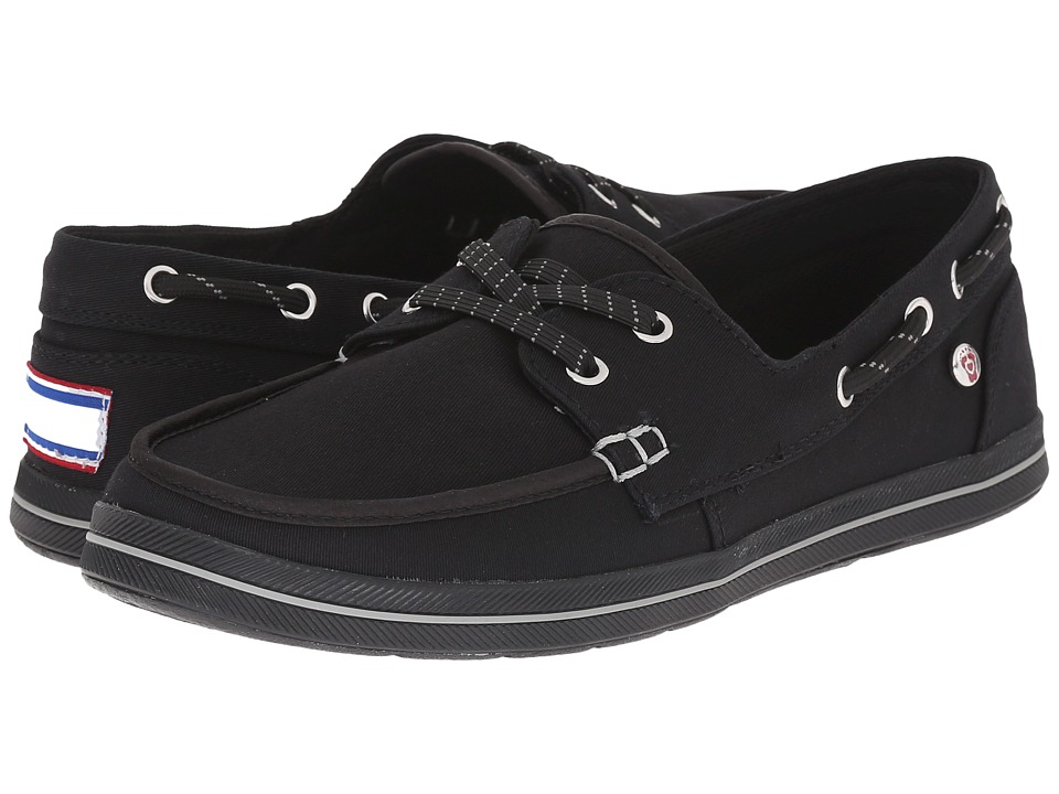 BOBS from SKECHERS Bobs Flexy Sea Legs Black Womens Lace up casual Shoes