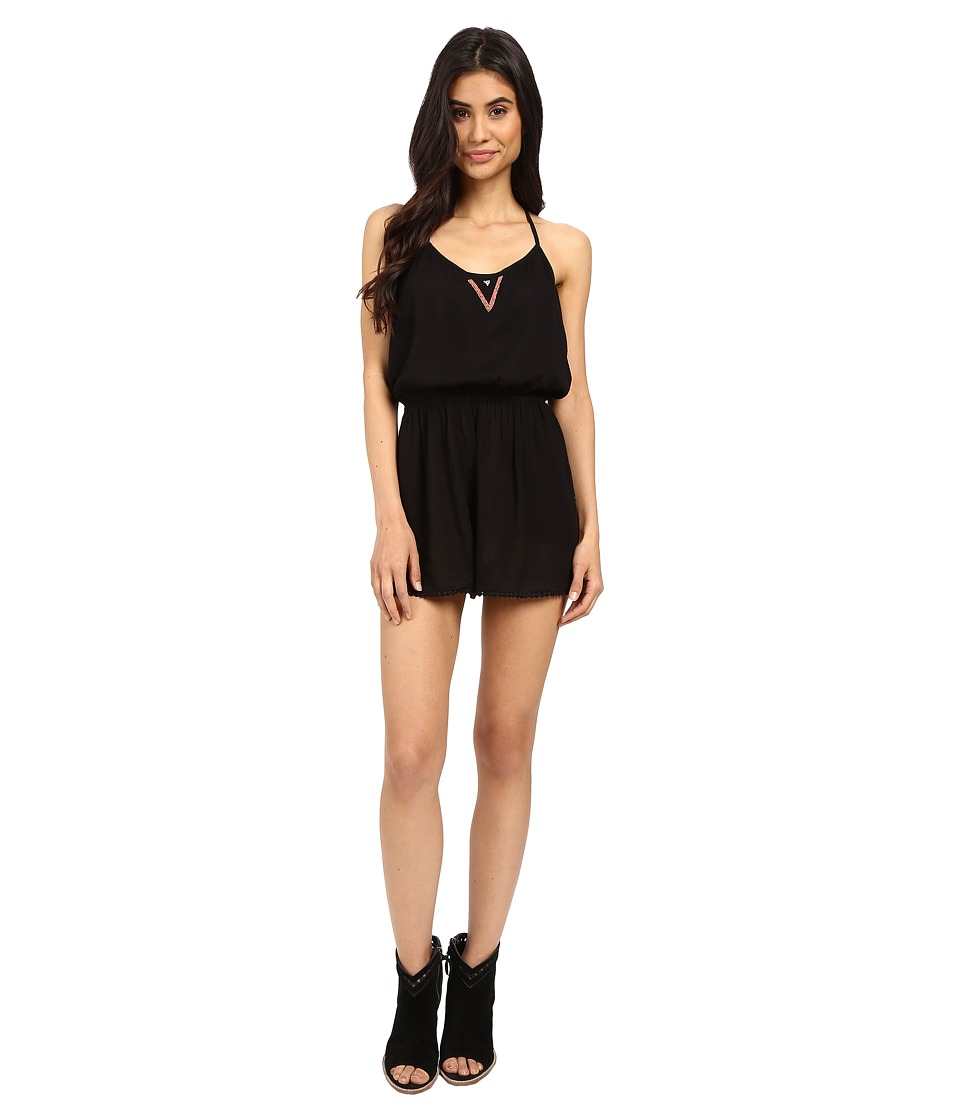 Roxy Beauty Brigade Romper True Black Womens Jumpsuit Rompers One Piece