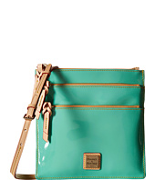 Dooney & Bourke - Pebble Patent North South Triple Zip