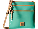 Dooney & Bourke Pebble Patent North South Triple Zip