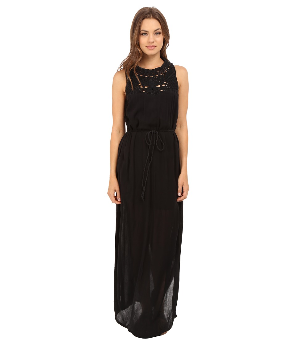 Roxy Shining Sea Dress True Black Womens Dress