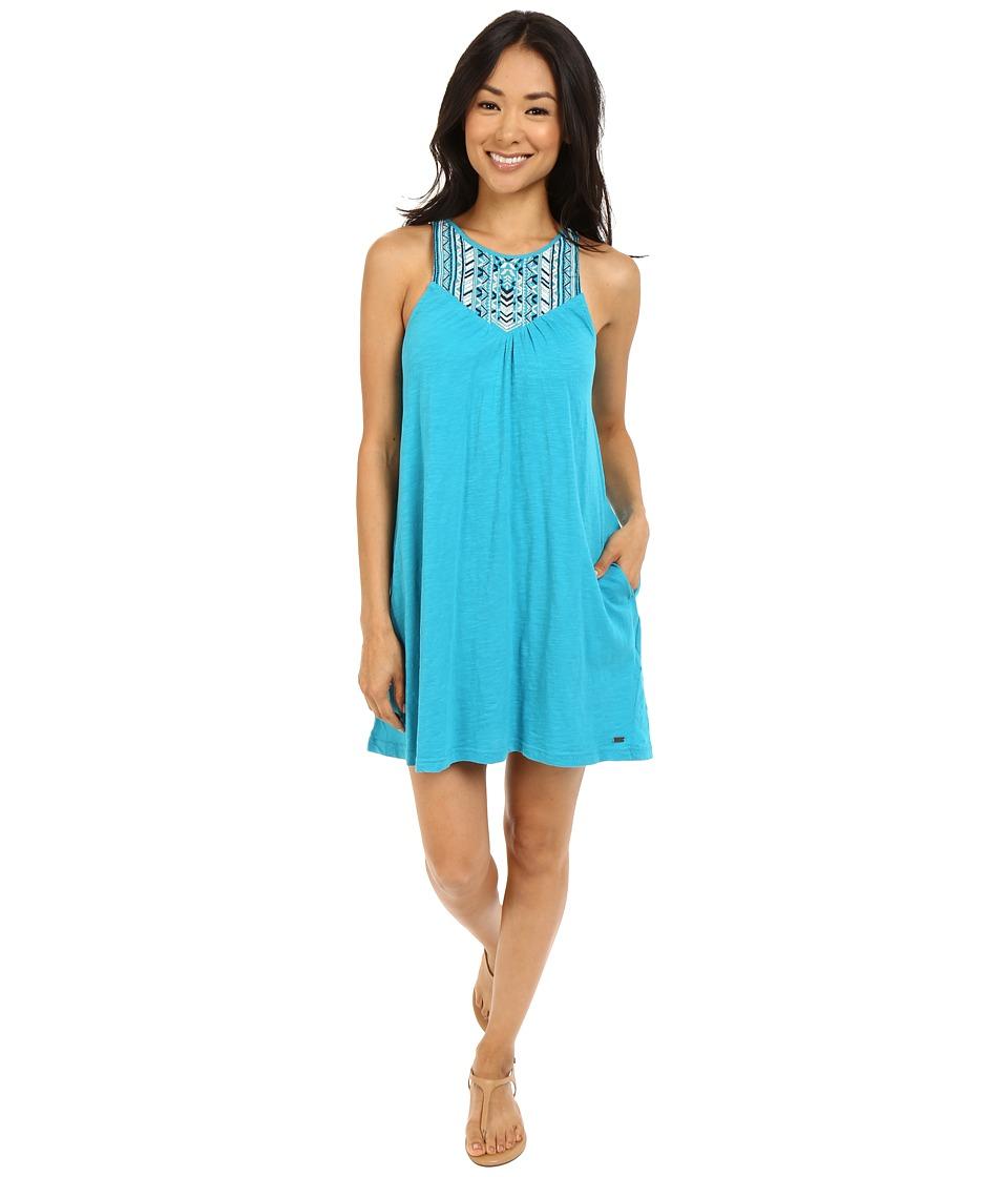 Roxy Eastshore Dress Enamel Blue Womens Dress