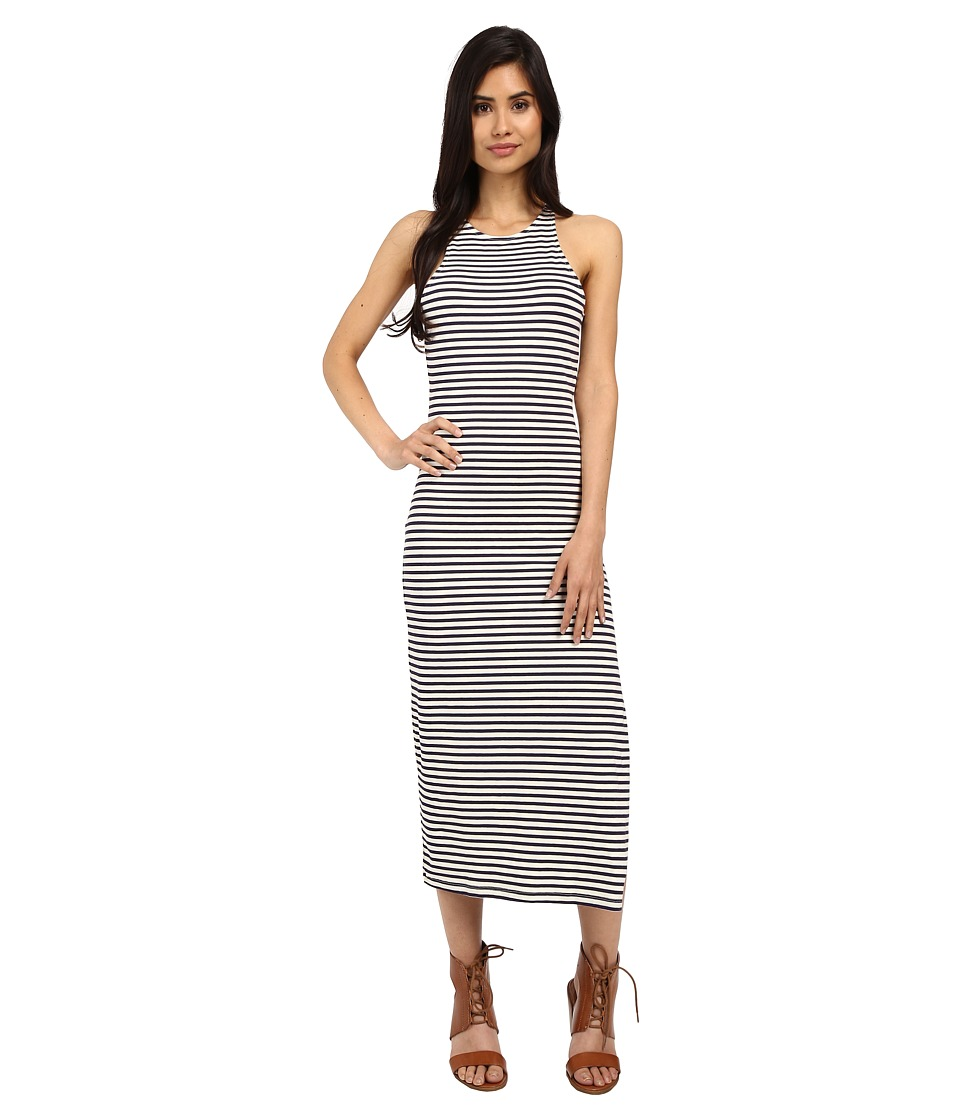 Roxy Ano Nuevo Dress Small Stripe Eclipse Womens Dress
