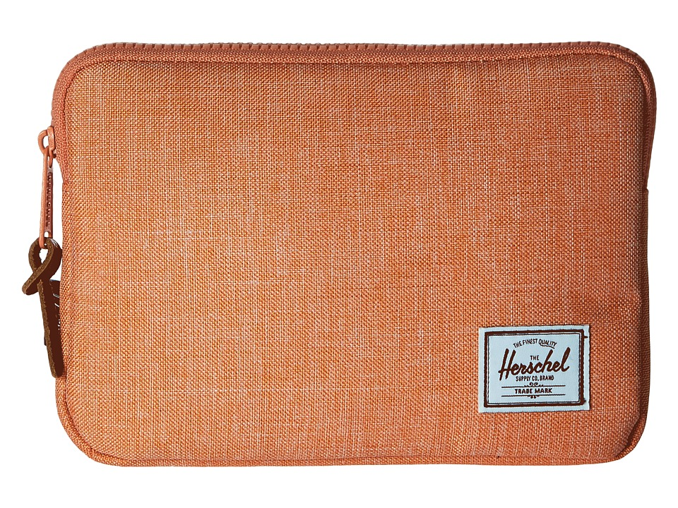 Herschel Supply Co. Anchor Sleeve for iPad Mini Nectarine Crosshatch Computer Bags