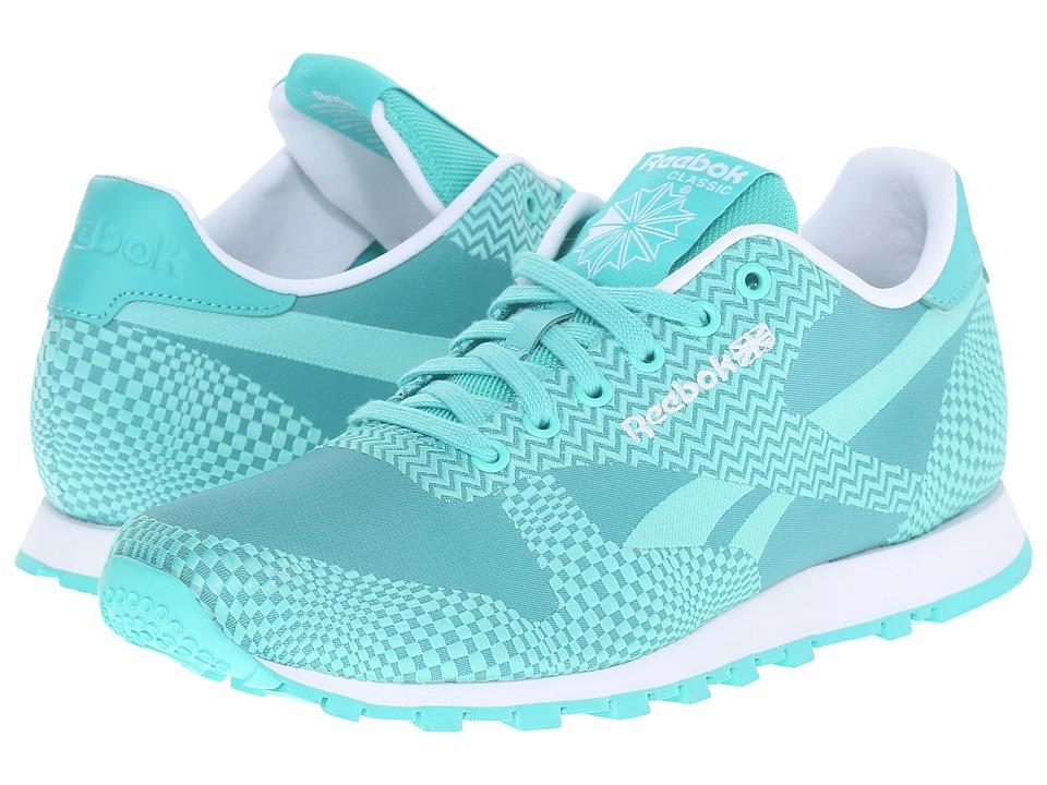 Reebok Lifestyle - Classic Runner Summer Brights (Emerald Sea/Emerald Haze/White) Women